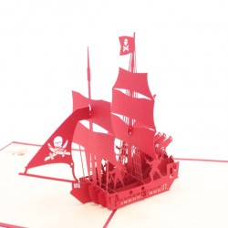 Red Pirate Ship