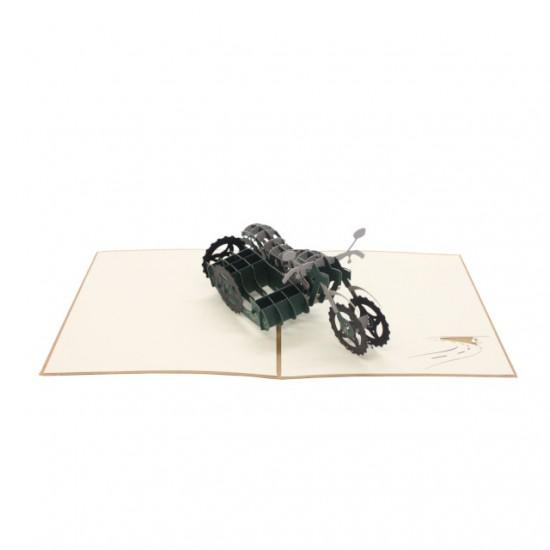 Sidecar Motorbike