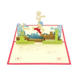 Mario Pop Up Card